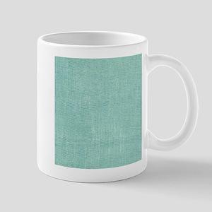 Faded Blue Canvas Mugs
