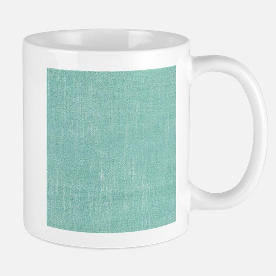 Faded Blue Canvas Mugs
