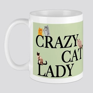 Cat Crazy Mug Mugs