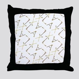 LAX it out! Throw Pillow