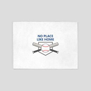 NO PLACE LIKE HOME 5'x7'Area Rug