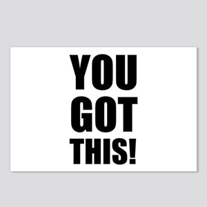 You Got This Postcards (Package of 8)