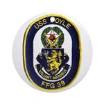USS DOYLE Ornament (Round)