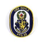 """USS DOYLE 3.5"""" Button"""