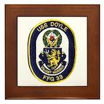 USS DOYLE Framed Tile