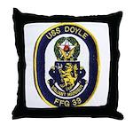 USS DOYLE Throw Pillow