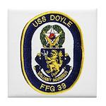 USS DOYLE Tile Coaster