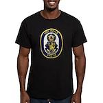 USS DOYLE Men's Fitted T-Shirt (dark)