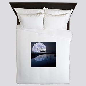 Swear Not By The Moon Queen Duvet