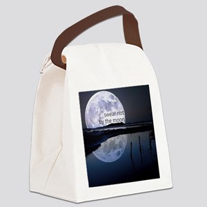 Swear Not By The Moon Canvas Lunch Bag