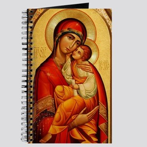 Mary The God Bearer Journal