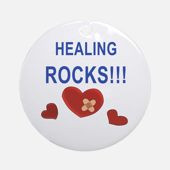 Healing Rocks!!! Ornament (Round)