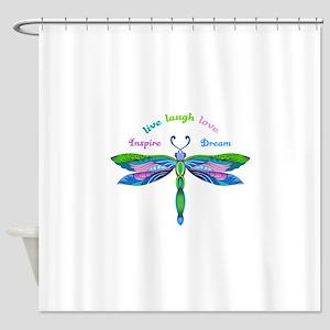 INSPIRE DREAM Shower Curtain