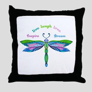 INSPIRE DREAM Throw Pillow
