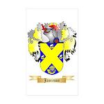 Jamieson Sticker (Rectangle 50 pk)