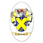 Jamieson Sticker (Oval)