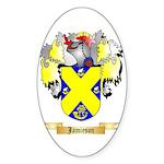 Jamieson Sticker (Oval 10 pk)