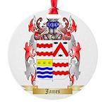 James (Ballycrystal) Round Ornament