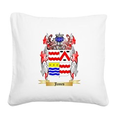 James (Ballycrystal) Square Canvas Pillow