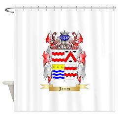 James (Ballycrystal) Shower Curtain
