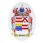 James (Ballycrystal) Ornament (Oval)