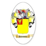 Jakubovitz Sticker (Oval 10 pk)