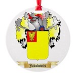 Jakubovits Round Ornament