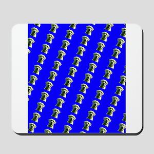 Cute Blue Labrador Retriever Dog Designe Mousepad