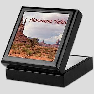 Monument Valley, Utah, USA 2 (caption Keepsake Box