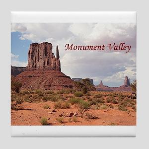 Monument Valley, Utah, USA 2 (caption Tile Coaster