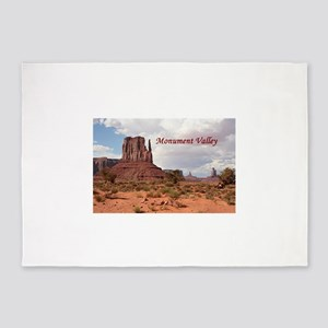 Monument Valley, Utah, USA 2 (capti 5'x7'Area Rug