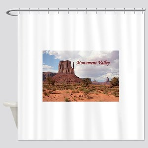 Monument Valley, Utah, USA 2 (capti Shower Curtain