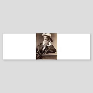 Walter Walt Whitman American Poet E Bumper Sticker
