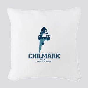 Chilmark - Caped Cod. Woven Throw Pillow