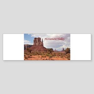 Monument Valley, Utah, USA 2 (capti Bumper Sticker
