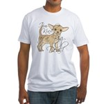Chihuahua I'm Kind of a Big Deal Fitted T-Shirt