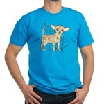 Chihuahua I'm Kind of Men's Fitted T-Shirt (dark)
