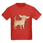Chihuahua I'm Kind of a Big Deal Kids Dark T-Shirt
