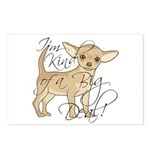 Chihuahua I'm Kind of a B Postcards (Package of 8)
