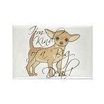 Chihuahua I'm Kind of Rectangle Magnet (100 pack)