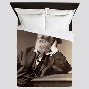 Walter Walt Whitman American Poet Essa Queen Duvet
