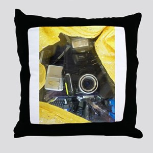 I Love My Kodak Camera. Throw Pillow