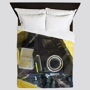 I Love My Kodak Camera. Queen Duvet