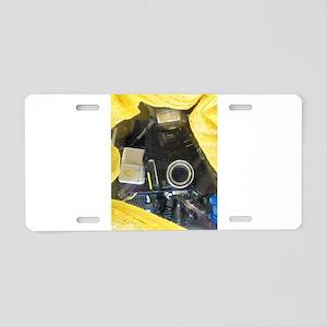I Love My Kodak Camera. Aluminum License Plate