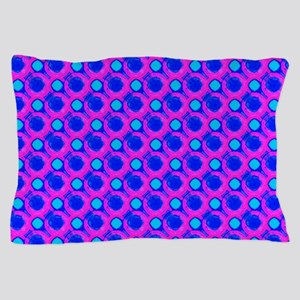 Pink Blue Bubble Dots Taylor's Fave Pillow Case