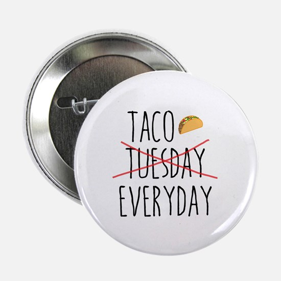 "Cute Tacos 2.25"" Button"