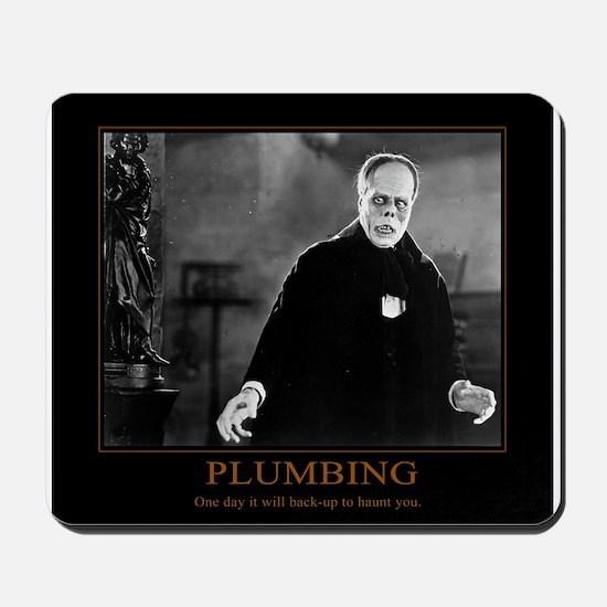 Phantom of the Opera Plumbing Meme Mousepad