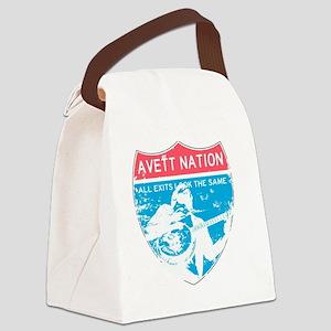 Avett Nation Interstate Sign Canvas Lunch Bag