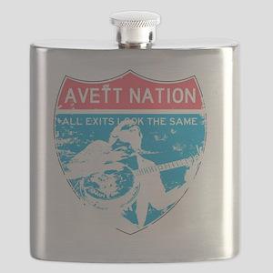 Avett Nation Interstate Sign Flask