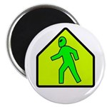 "Alien Crossing 2.25"" Magnet (10 pack)"